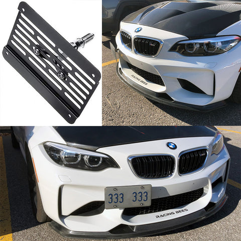BMW F-SERIES Front Plate Relocation Kit
