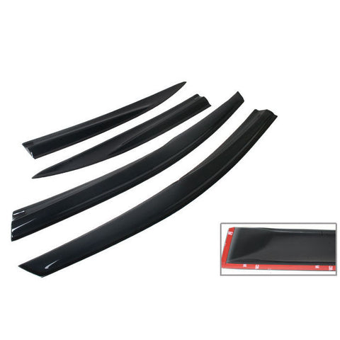 Window Visor Mugen style for 2008-2012 Honda Accord 4D