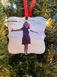Photo Ornament - Personalized with your own photo!