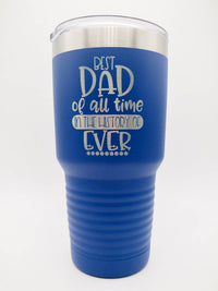 Best Dad of All Time Engraved Polar Camel Tumbler