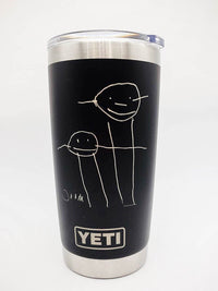 Engraved Artwork on YETI