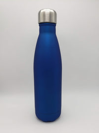 Engraved 17oz Cola Water Bottle Blue - Sunny Box