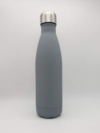 Matte Gray Engraved 17oz Cola Water Bottle - Creatively Crowned Engraving