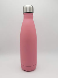 Pink Matte Engraved 17oz Cola Water Bottle - Sunny Box