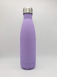 Purple Matte Engraved 17oz Cola Water Bottle - Creatively Crowned Engraving