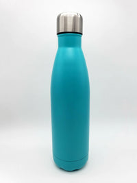 Engraved 17oz Cola Water Bottle Turquoise - Sunny Box