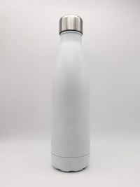 White Engraved 17oz Cola Water Bottle - Sunny Box