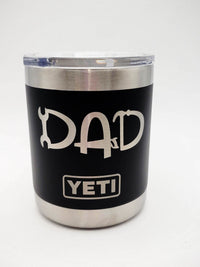 Dad Tools Engraved YETI