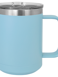 Engraved Polar Camel 15oz Mug Light Blue Sunny Box
