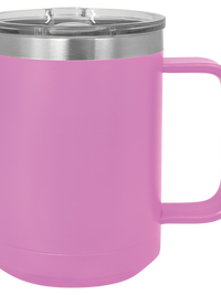 Engraved Polar Camel 15oz Mug Light Purple Sunny Box