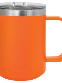 Engraved Polar Camel 15oz Mug Orange Sunny Box