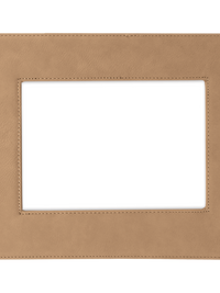 Engraved 4x6 5x7 Photo Frame Light Brown Sunny Box