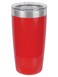 Engraved Polar Camel Tumbler - 20oz Red - Creatively Crowned Engraving