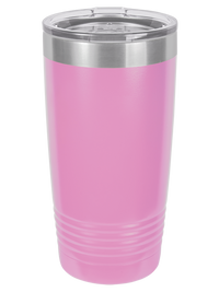 Engraved Polar Camel 20oz Light Purple Tumbler Sunny Box