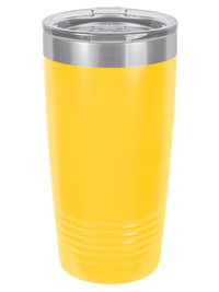 Engraved 20oz Polar Camel Tumbler Yellow - Creatively Crowned Engraving