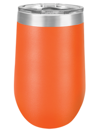 Engraved 16oz Polar Camel Wine Tumbler Orange - Sunny Box