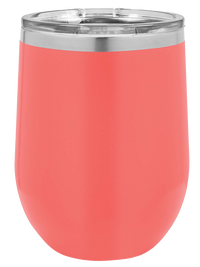 Engraved 12oz Polar Camel Winen Tumbler Coral - Creatively Crowned Engraving