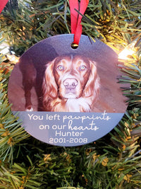 Pet Memorial Photo Ornament by Sunny Box