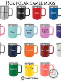 Polar Camel 15oz Engraved Mug Colors Sunny Box
