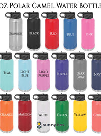 Polar Camel 32oz Water Bottle Colors Sunny Box