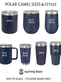 Polar Camel Drinkware Sizes Sunny Box.