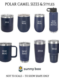 Polar Camel Drinkware Sizes Sunny Box