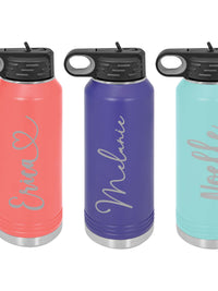 Engraved 32oz Polar Camel Water Bottle by Sunny Box