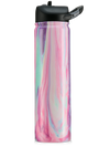 Engraved 27oz SIC Water Bottle Cotton Candy - Creatively Crowned Engraving