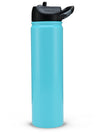 Engraved 27oz SIC Water Bottle Seafoam Blue