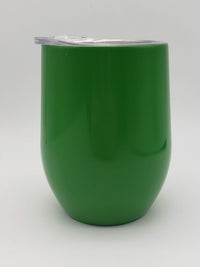 Engraved 9oz Wine Tumbler Green - Sunny Box
