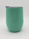 Engraved 9oz Wine Tumbler Seafoam