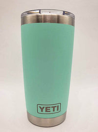 Coffee Because Adulting is Hard Engraved YETI Tumbler