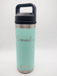 Personalized Engraved YETI Water Bottle