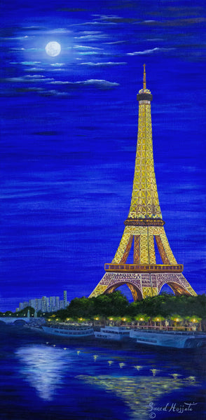 Paris by Moonlight I (2014)