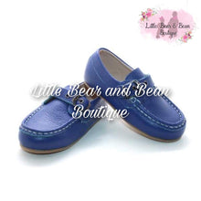 Load image into Gallery viewer, Blue Adjustable Loafers