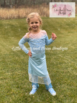 Into the Unknown Inspired Elsa 2 Piece Set