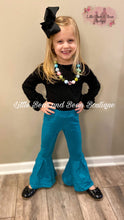 Load image into Gallery viewer, Teal Solid Belle Leggings