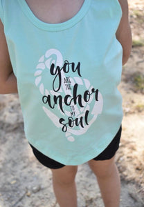 Anchor To My Soul Tank Top