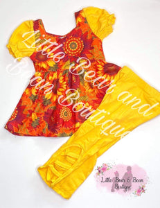 Sunset Sunflower  Set