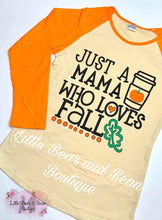Load image into Gallery viewer, Mommy and Me - Mama Who Loves Fall Top