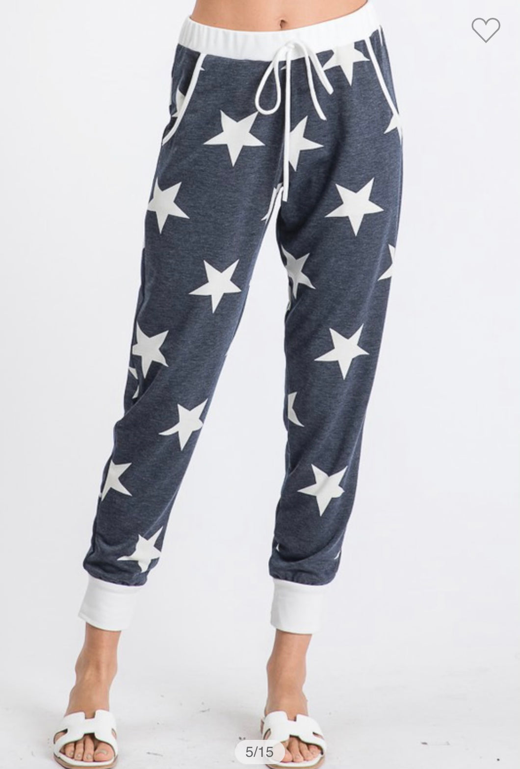 Ladies Star Joggers