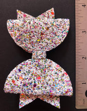 Load image into Gallery viewer, Solid and Multi Sparkle 4 Inch Bow on Alligator Clip