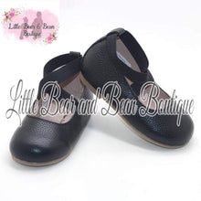 Load image into Gallery viewer, Black Ballet Flats