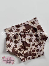 Load image into Gallery viewer, Brown Cowhide Bummie