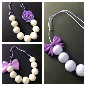 Handmade Adjustable Solid Color with Bow or Flower Accent