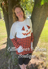 Load image into Gallery viewer, Jack O Lantern Ladies Tunic