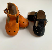 Load image into Gallery viewer, T-Strap Mocassins Anti-Slip or Hard Sole Shoe