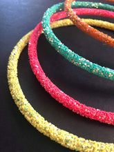 Load image into Gallery viewer, Neon Glitter Handmade Headbands
