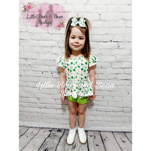 Load image into Gallery viewer, Floral Clover Bummie Set