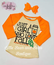 Load image into Gallery viewer, Mommy and Me - Girl Who Loves Fall Top